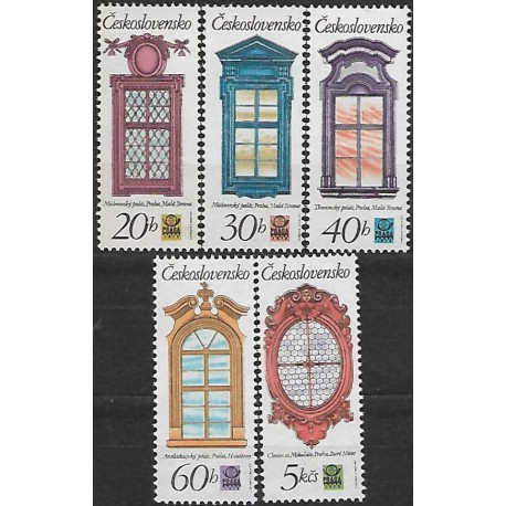 2240- 2244./5/, Historická pražská okna,**,
