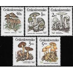 2909- 2913.,/5/, Jedovaté houby,**,