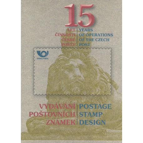 RPP3 15 LET ČESKÉ POŠTOVNÍ ZNÁMKY 2006,