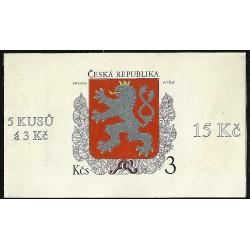ZS2,1. Malý státní znak České republiky,**,