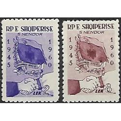 619- 620./2/, 15 let albánsko- sovětského přátelství,*,