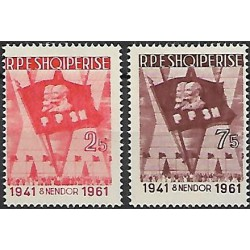638- 639./2/, 20 let albánské mládežnické organizace,*,