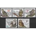 2758-2762./5/, Ochrana přírody - ptactvo- sovy,**,
