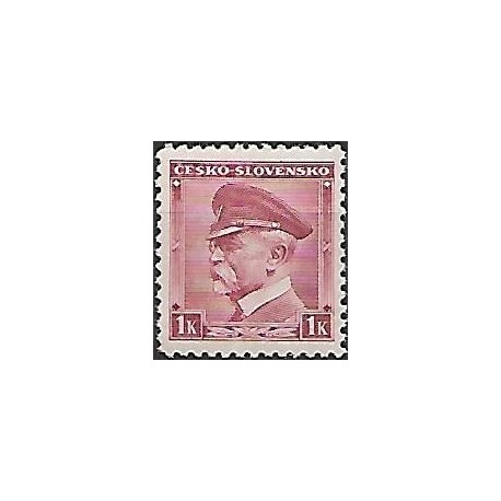 352. T.G.Masaryk, ČESKO - SLOVENSKO,**,