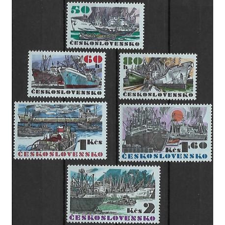 1979- 1984./6/, Československé námořní lodě,**,