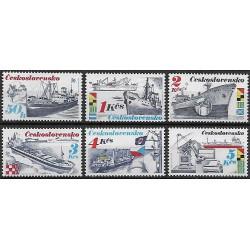 2885- 2890./6/, Československá námořní plavba,**,