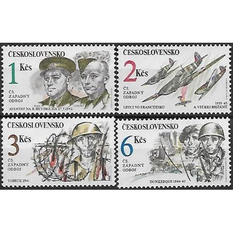 3008- 3011./4/, Československý západní odboj za II. Světové války,**,