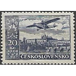 14.- Letecké známky- definitivní vydání,*,