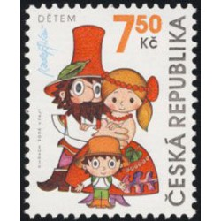 475. dětem - Rumcajs, Manka, Cipísek,**,