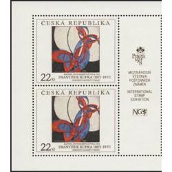 191.-,KP, Umělecká díla na známkách,**,