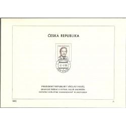 3.NL, prezident ČR Václav Havel,o,
