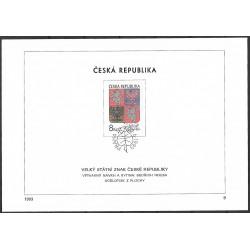 """10.NL, Velký státní znak České republiky,o"""","""