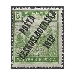 103. /192.III, Uherské výplatní - Ženci, barevné číslice, přetisk,**,