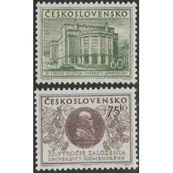 816- 817./2/, 35. výročí Univerzity Komenského v Bratislavě,**,