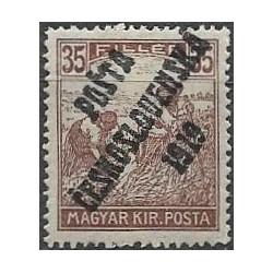 109. /198. Uherské výplatní - Ženci, barevné číslice, přetisk,*,