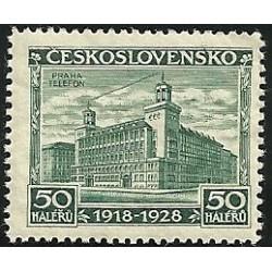 235.- 10. výročí vzniku ČSR,*,
