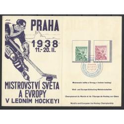 """MISTROVSTVÍ SVĚTA A EVROPY v ledním hockeyi 1938,o"""","""