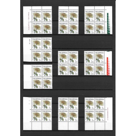 684.,čtbl, Krása květů - Chryzanténa - výplatní,**,