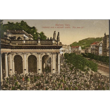 Karlovy Vary- Lázeňský ruch ,o,