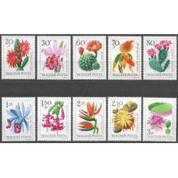 2164-2173./10/, Maďarsko, květiny kaktusy,**,