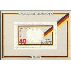 807.Bl10,**, 25 let BDR, 1974,