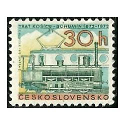 1947. 100. výročí železnice Košice - Bohumín,**,