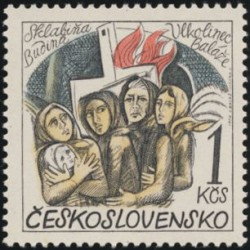 2128.- 30. výročí zničení českých a slovenských obcí za fašistické okupace,**,