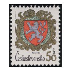 2634- 2637./4/, Znaky československých měst,**,