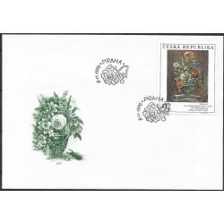 """97-,FDC, Umělecká díla na známkách 1995,o"""","""