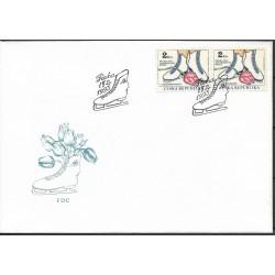 """2.FDC, MS v krasobruslení,o"""", 1993,"""