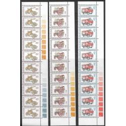 375- 377./3/ ,deset.ps, Technické památky- hasičská technika,**,