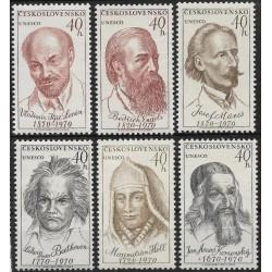 1810- 1815./6/, výročí osobností UNESCO,**,
