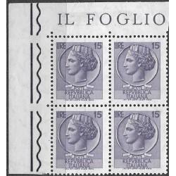 1257.,čtbl, Itálie,**,