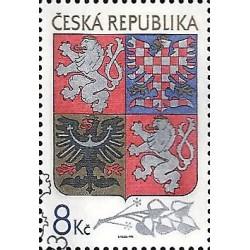 10. Velký státní znak České republiky,o-,