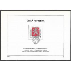 """1.NL, Malý státní znak České republiky,o"""","""