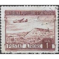 490.- Albanie- letecké,o,