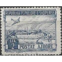 491.- Albanie- letecké,o,