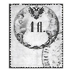 37. Ö,kolková známka, II. 1858,o,