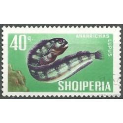 1134.- Albánie- ryby,o,