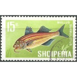 1132.- Albánie- ryby,o,