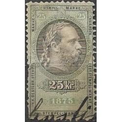 187. Ö,kolková známka 1875,o,poš.,