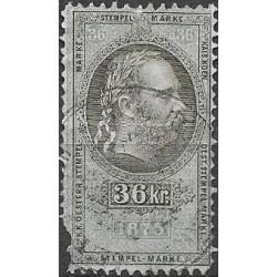 188. Ö,kolková známka 1875,o,poš,