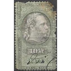 184. Ö,kolková známka 1875,o,poš,
