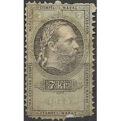 183. Ö,kolková známka 1875,o,poš,