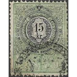 242. Ö,kolková známka 1879,o,
