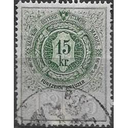 326. Ö,kolková známka 1885,o,
