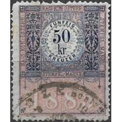 329. Ö,kolková známka 1885,o,