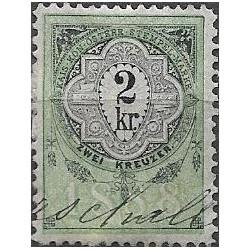 347. Ö,kolková známka 1888,o,