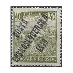 110. /199. Uherské výplatní - Ženci, barevné číslice, přetisk,**,