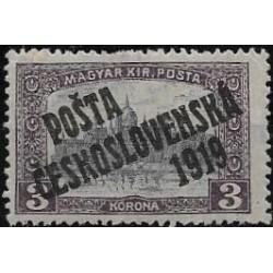 116. /205. Uherské výplatní - Parlament, přetisk,**,